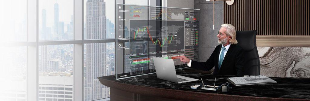 monitory transparentne dla biznesu