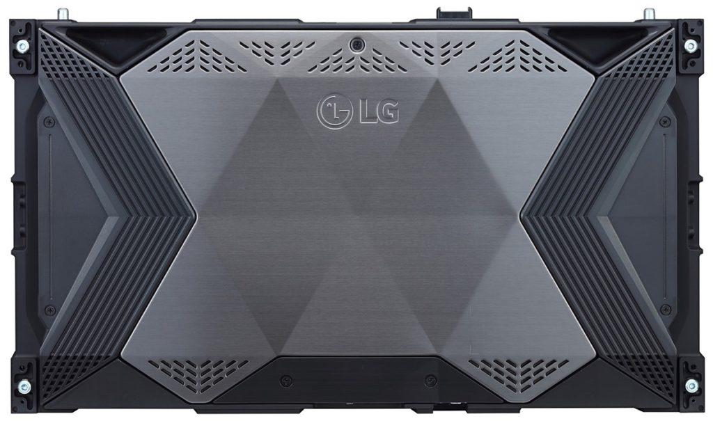 monitor LG serii LSAA widok od tyłu