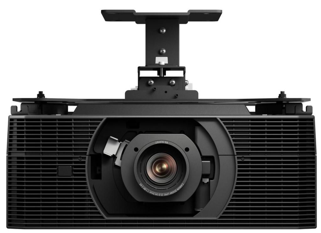 projektor laserowy Canon XEED 4K6021Z na wysięgniku