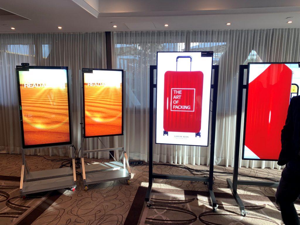 nowe ekrany LG dla digital signage