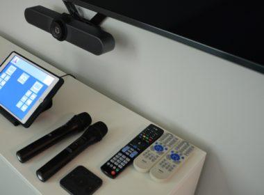 dwukanałowy zestaw mikrofonowy AMC